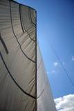 Let's sail. Sail on the pole Royalty Free Stock Photos