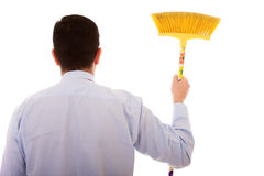 Let's start the cleaning Royalty Free Stock Image