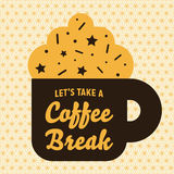 Let's Take A Coffee Break Stock Photos