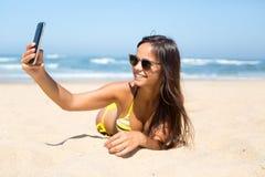 Let's take a selfie! Royalty Free Stock Photos