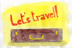 Let's Travel! Stock Photo