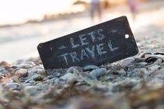 Let's travel idea Stock Photos