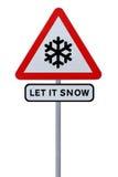 Let It Snow! Stock Photo