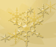 Let it Snow. Snow enlarge Stock Illustration