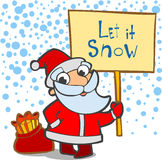 Let it snow Royalty Free Stock Photo