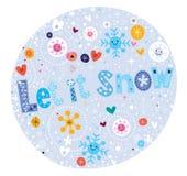 Let it snow stock illustration
