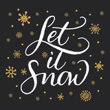 Let it snow Royalty Free Stock Image