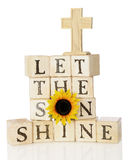 Let the Son Shine Royalty Free Stock Images