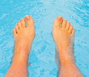 Free Let Warm Water Caress My Feet Royalty Free Stock Photography - 7148477