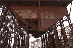 Let the Work begin. Old gold mine now abandoned in Colorado Victor stock photos