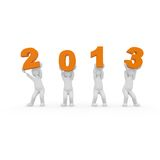 2013 is the year of hope. Let the year 2013 celebrate. Here is the rule: all have fun Vector Illustration