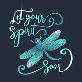 Let your spirit soar. Royalty Free Stock Photos