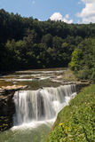 Letchworth Lower Falls Royalty Free Stock Images