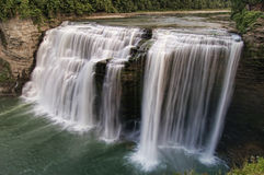 Letchworth Middle Falls. Middle Falls at Letchworth State Park, NY Stock Photo