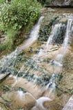 Letchworth State Park. Feeder creek mini waterfall, Letchworth State Park, NY Stock Photo