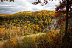 Letchworth State Park in the Fall. Letchworth State Park Fall, River Gorge, in Upstate New York Stock Photography