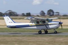 1980 Cessna 172N Skyhawk four seat single engine light aircraft VH-TBL. stock photography