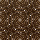 Lether decore texture tile royalty free illustration