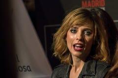 Leticia Dolera all'evento del cinema di settimana di prima di Madrid nel quadrato di Callao, Madrid Fotografie Stock