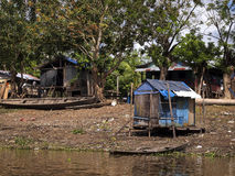 Leticia. The port on the Amazon river in the city of Leticia, the capital of the department of Amazonas Stock Photos