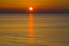 letland De Golf van Riga De hete zomer Stock Afbeeldingen