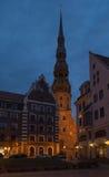 Letland, Riga Stock Afbeeldingen