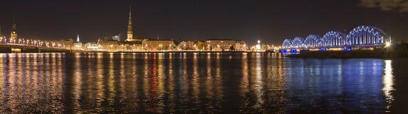 Letland, Riga negentigste stock foto