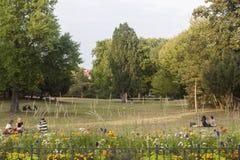 Letna park zdjęcie stock