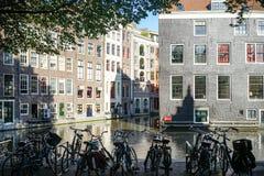 Letni dzień w Amsterdam Obrazy Royalty Free