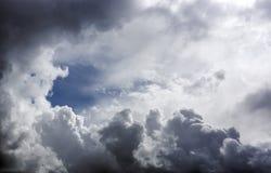 Letniego dnia niebo Zdjęcie Royalty Free