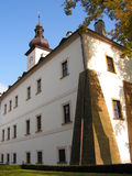 Letohrad castle. This castle is two hundred years old Royalty Free Stock Photo