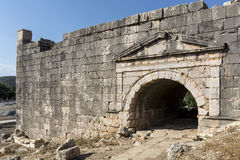 Letoon ancient city in Mugla. Turkey Stock Images