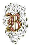 Letra B ilustración del vector
