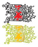 Letra B libre illustration