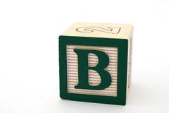 Letra b Fotografía de archivo libre de regalías