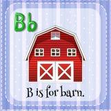 Letra B Imagen de archivo libre de regalías