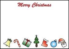 Letra branca temático do fundo do Natal ilustração royalty free