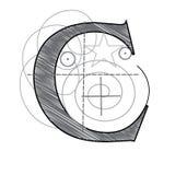 Letra C libre illustration