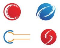 Letra C Logo Template Design Vetora Imagem de Stock Royalty Free
