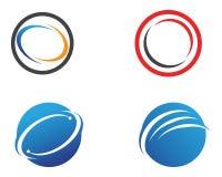 Letra C Logo Template Design Vetora Fotografia de Stock