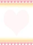 Letra de amor 2 Imagem de Stock Royalty Free