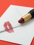 Letra de amor imagens de stock royalty free