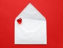 Letra de amor Fotografia de Stock
