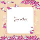 Letra de amor Foto de archivo