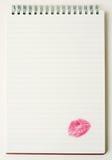 Letra de amor. Imagens de Stock