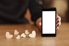 Letra de Digitaces sobre amor Imagenes de archivo