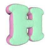 Letra de la almohada del alfabeto Imagen de archivo