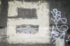 Letra a de la pintada imágenes de archivo libres de regalías