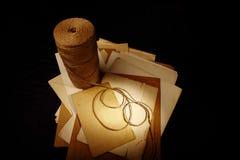 Letra de papel Foto de Stock Royalty Free