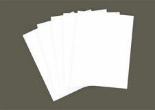 Letra de papel para a foto do modelo Fotografia de Stock Royalty Free